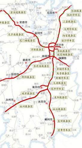 【湖南路段】 京珠高速公路出入口(湖南段)